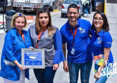 Feria de la Salud 2019 Grupo GAMI en OCP de Mexico