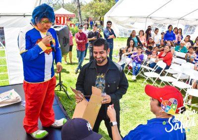 Feria de la Salud 2019 Grupo GAMI en Amphenol104