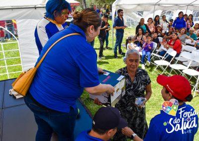 Feria de la Salud 2019 Grupo GAMI en Amphenol105