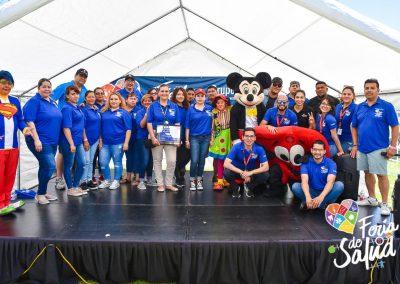 Feria de la Salud 2019 Grupo GAMI en Amphenol127