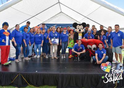 Feria de la Salud 2019 Grupo GAMI en Amphenol128