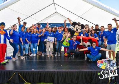Feria de la Salud 2019 Grupo GAMI en Amphenol130