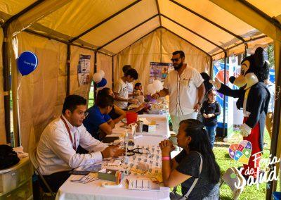 Feria de la Salud 2019 Grupo GAMI en Amphenol28