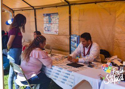 Feria de la Salud 2019 Grupo GAMI en Amphenol49