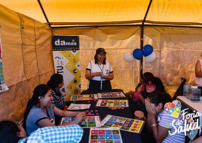 Feria de la Salud 2019 Grupo GAMI en Amphenol54