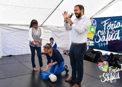 Feria de la Salud 2019 Grupo GAMI en Amphenol57